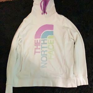 White North Face Sweatshirt